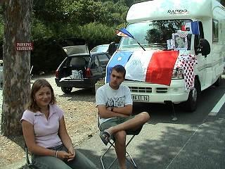 Rencontre en camping car